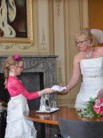 Dorijn is bruidsmeisje